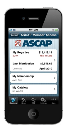 how to become a member of ascap