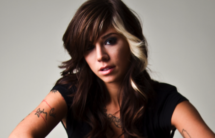 Christina Perri Long Layered Hairstyles For Fine Hair With Bangs