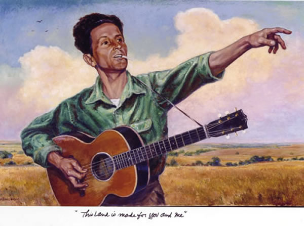 Picture of Woody guthrie - #8