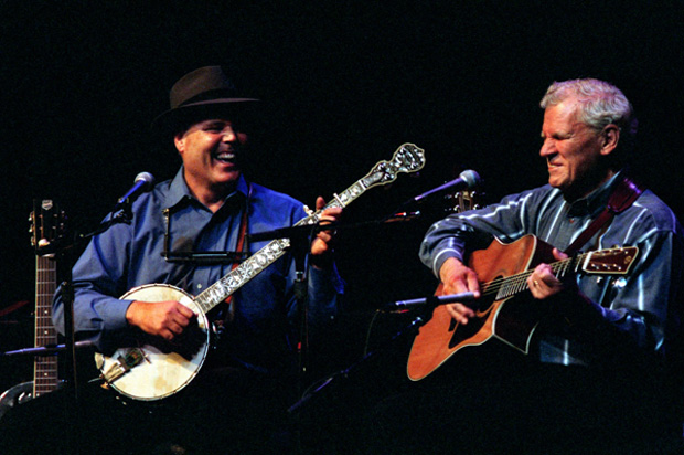 Doc Watson and David Holt
