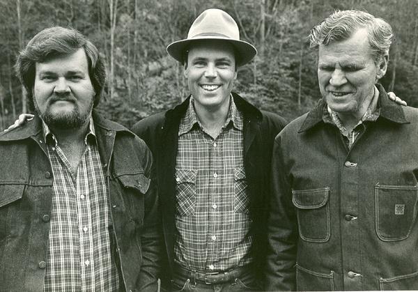 Merle Watson, David Holt and Doc Watson