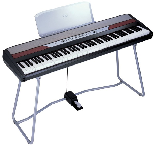 Review korg sp 250 portable digital stage piano for Piano electrique