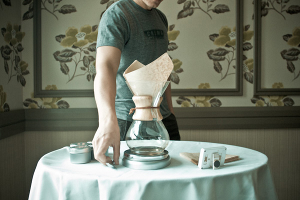chemex from Crema   drinks with: marc maron