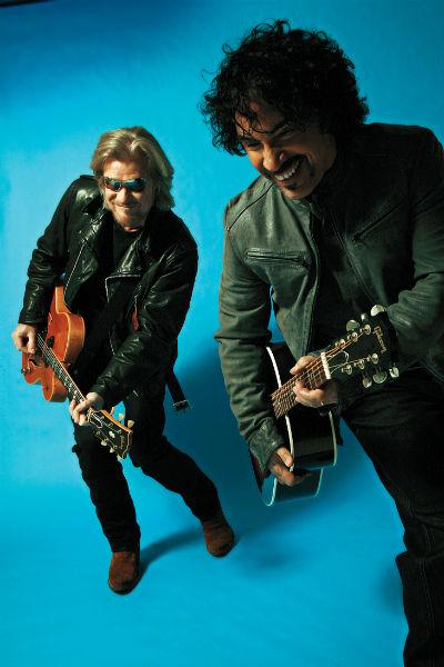 Daryl and John - credit Mick Rock