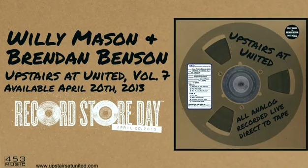 brendan benson willy mason record store day