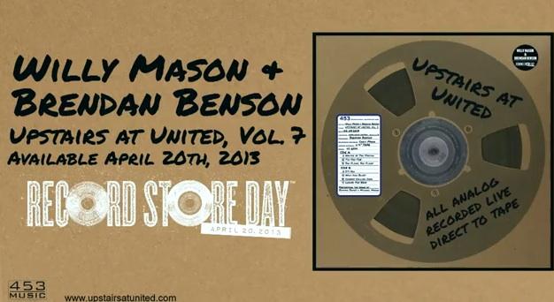 brendan benson willy mason record store day