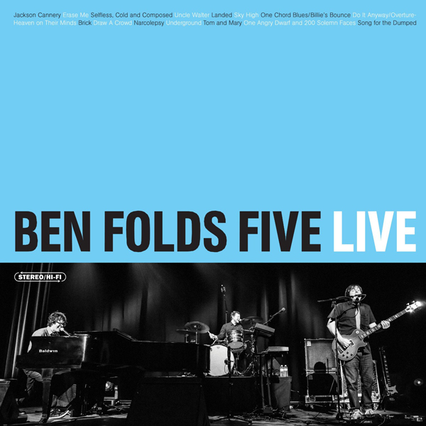 Ben Folds Five Ben Folds Five Live American Songwriter