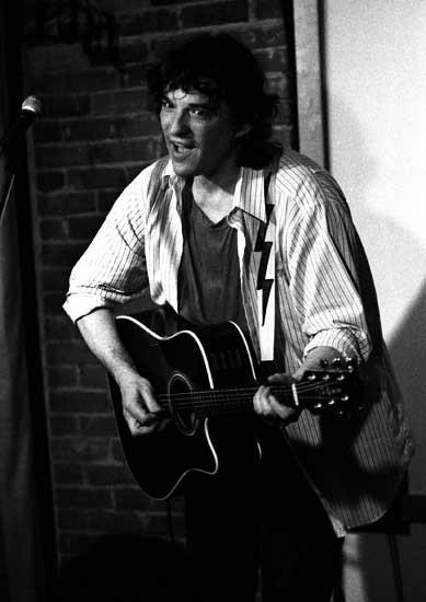 Rick Danko Performing At Caffè Lena