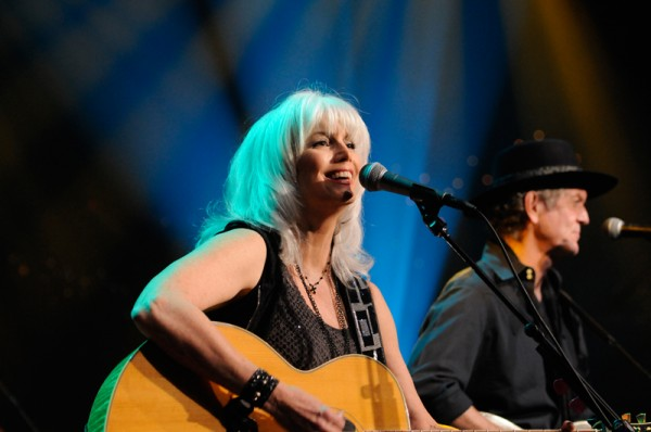 Emmylou Harris and Rodney Crowell