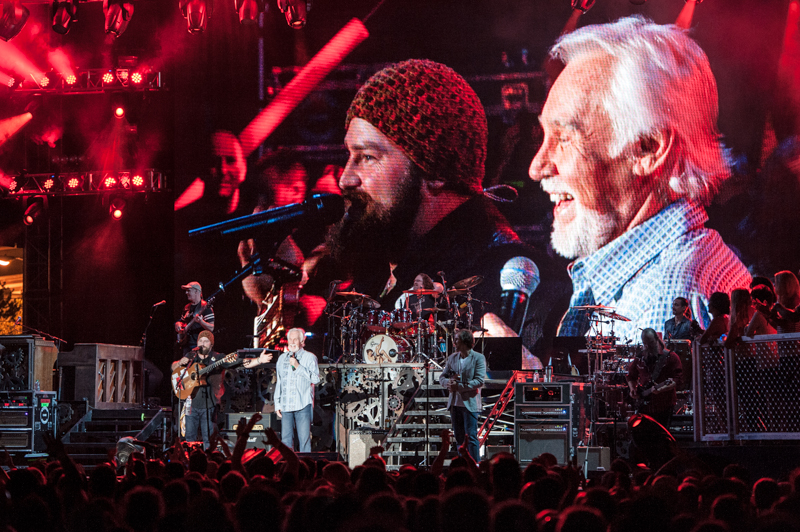 Kenny Rogers with Zac Brown Band