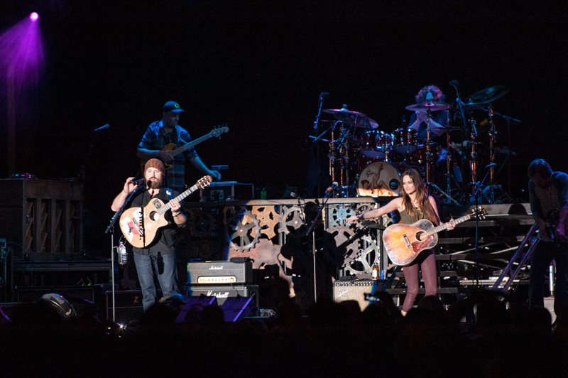 Kacey Musgraves with Zac Brown Band