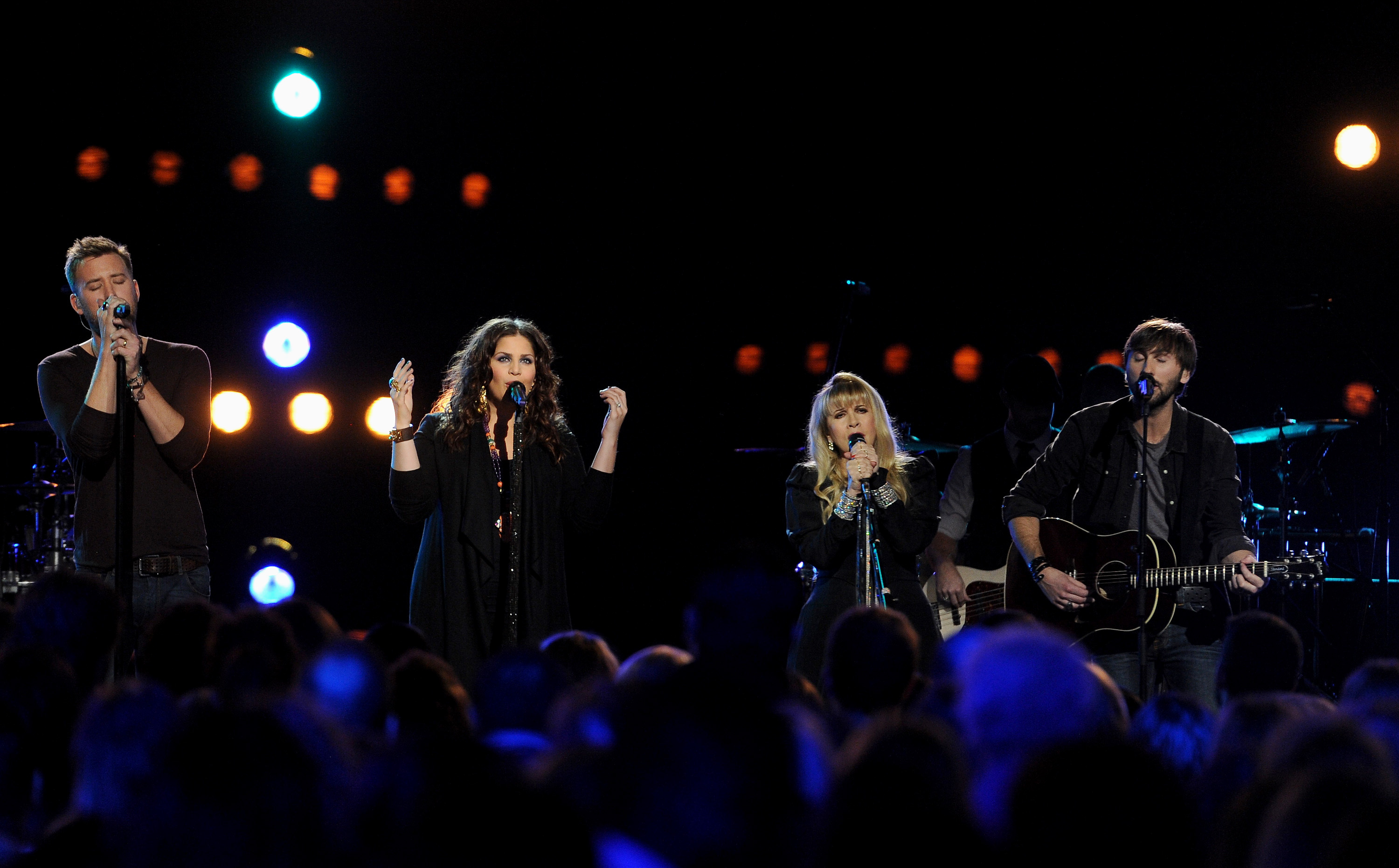 Charles Kelley, Hillary Scott, Stevie Nicks, Dave Haywood