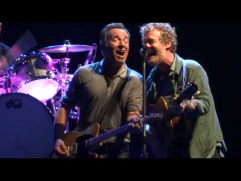glen hansard bruce springsteen