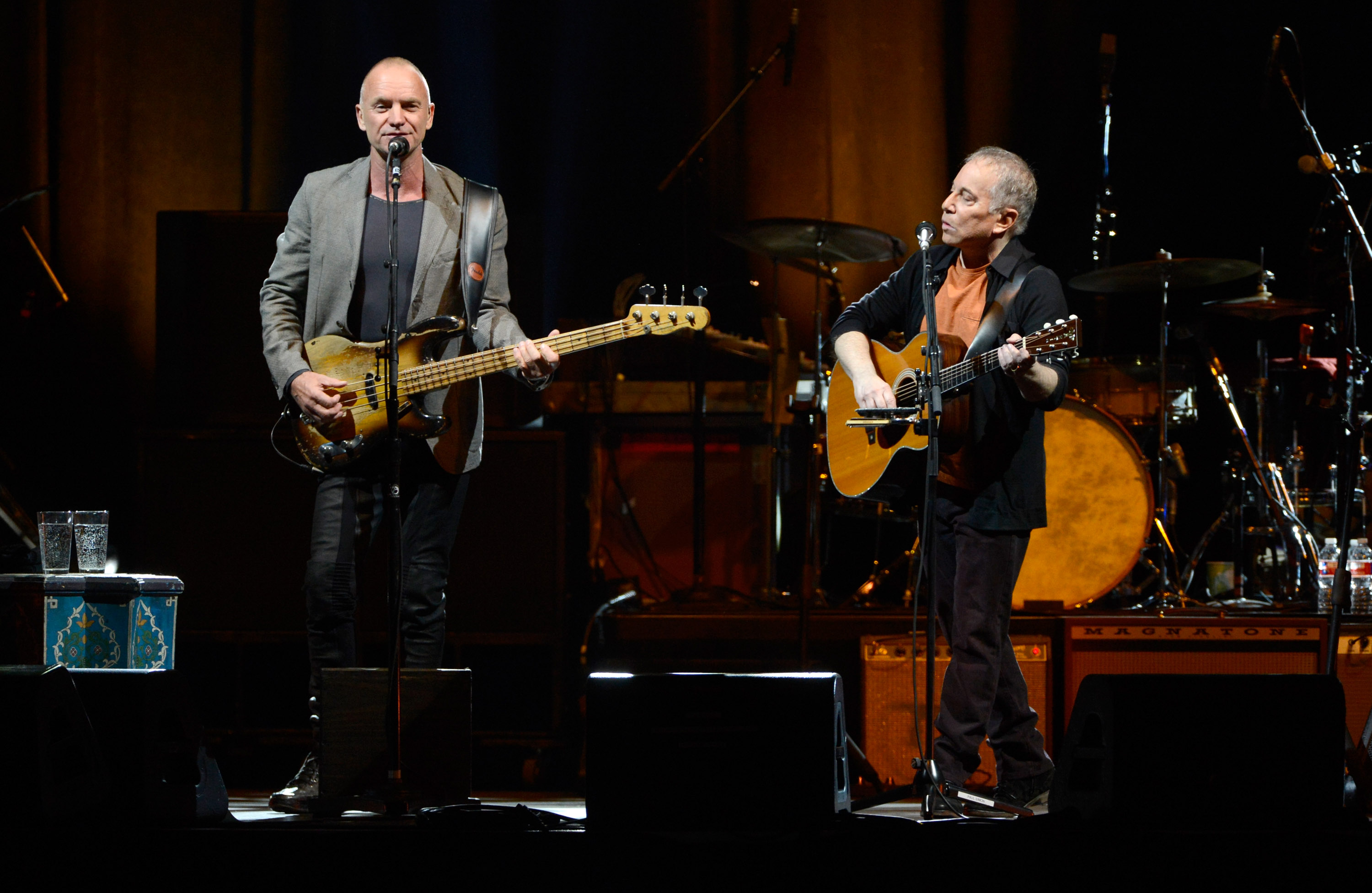 """Sting & Paul Simon """"On Stage Together"""" Tour - Opening Night"""