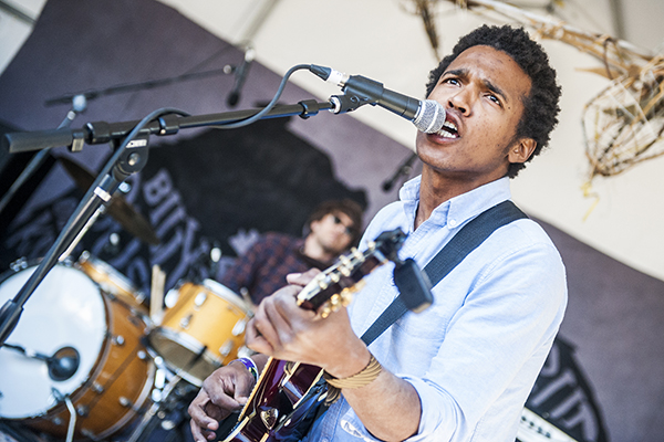 Benjamin Booker at the Billy Reid + Weather Up Shindig