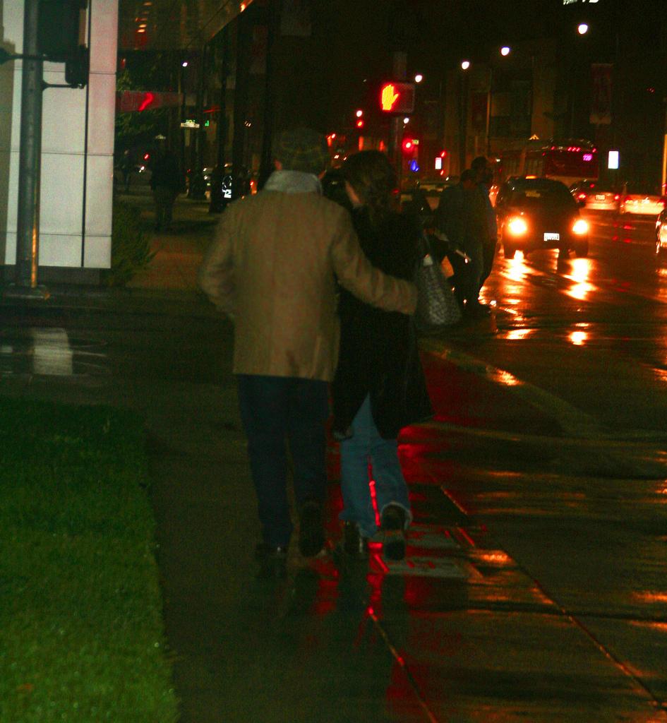 Rebecca Pidgeon & David Mamet on Wilshire