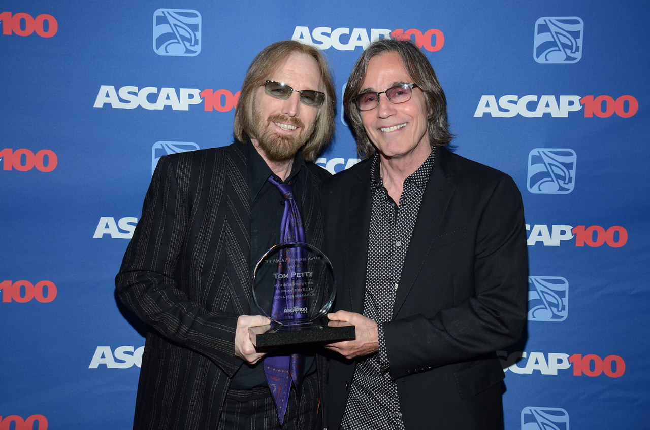 Tom Petty and Jackson Browne recipients of ASCAP Founders Award 2014.