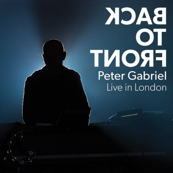 Peter Gabriel Back to Front DVD