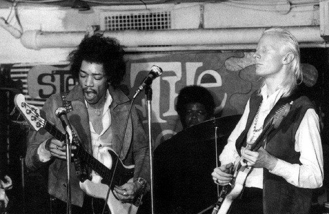 Jimi Hendrix Johnny Winter