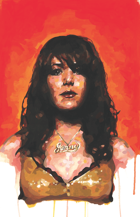 Jenny Lewis Painting