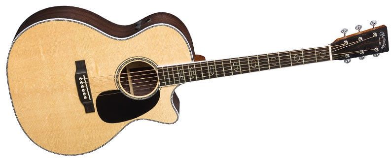 review martin gpc aura gt acoustic electric guitar american songwriter. Black Bedroom Furniture Sets. Home Design Ideas