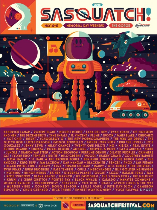 Sasquatch! Festival 2015