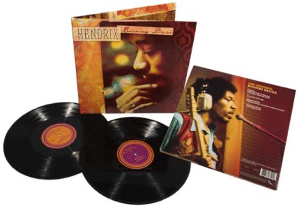 Jim Hendrix - Burning Desire